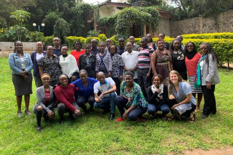 Group photo of EQUIP Kenya training participants