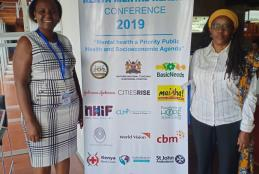 Prof. Muthoni Mathai and her Doctoral student attend Mental Health Conference